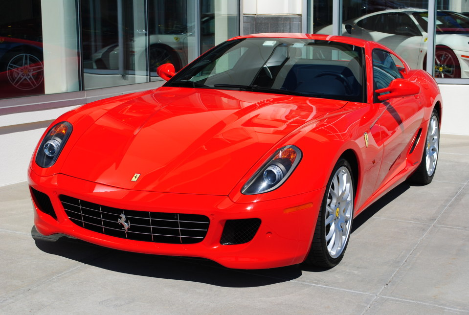 2009 FERRARI 599 GTB FIORANO